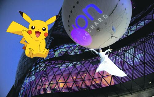 ION Orchard is Singapore's first official PokeStop for Pokemon Go