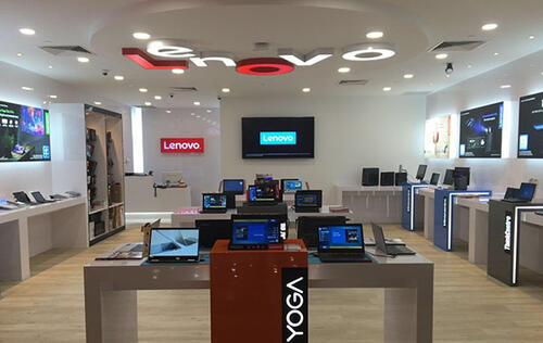 Lenovo Exclusive Store opens in Marina Square