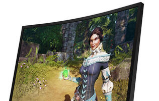 Lenovo's Y27f Curved Gaming Monitor is the company's first to support AMD FreeSync