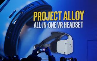 Intel's Project Alloy: The first high quality untethered VR headset with mixed reality experience