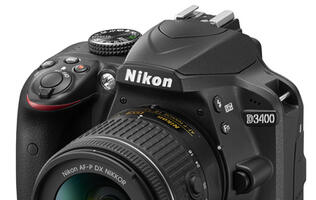 Nikon's D3400 offers an easy first step into DSLR photography