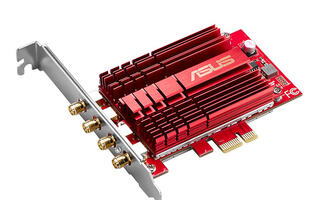 ASUS' new PCE-AC88 Wi-Fi PCIe adapter will give your desktop a massive Wi-Fi boost