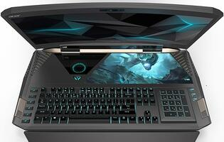 Meet Acer Predator 21 X, the world's 1st gaming laptop with a curved display!