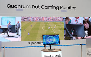 Samsung puts quantum dot technology into its new curvy gaming monitors