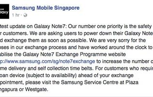 PSA: Samsung wants you to exchange your Galaxy Note7 ASAP
