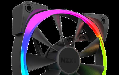 NZXT unveils their Aer RGB case fans with customizable lighting