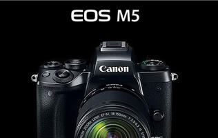 Canon EOS M5 announced *updated with local pricing*
