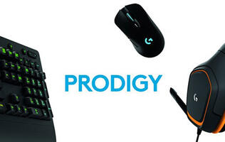 Logitech's new Prodigy line of peripherals takes aim at the average gamer