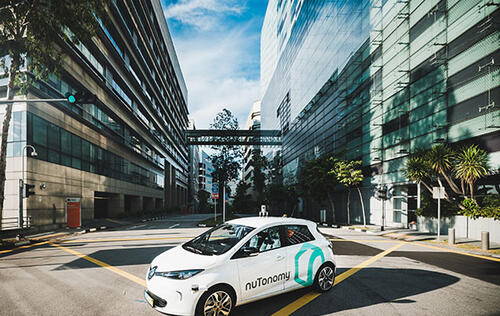 Grab partners with MIT-spinoff nuTonomy to allow hailing of its self-driving cars