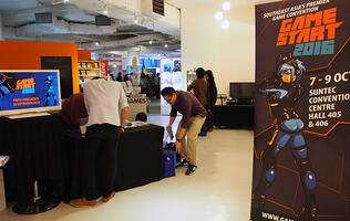 GameStart 2016 returns to Suntec on 7th to 9th October