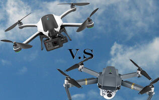 Clash of the drones: DJI Mavic Pro and GoPro Karma compared