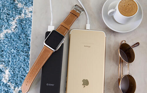 ZENS' new power bank will let you charge your Apple Watch and iPhones on the go