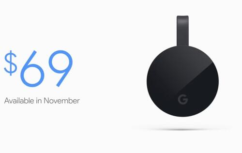 Google's new Chromecast Ultra streams 4K, HDR and Dolby Vision
