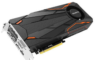 Gigabyte's GeForce GTX 1080 Turbo OC 8G is a Founders Edition card dressed up in fancy clothes