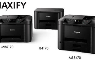 Canon's latest Maxify business inkjet printers are faster and more secure