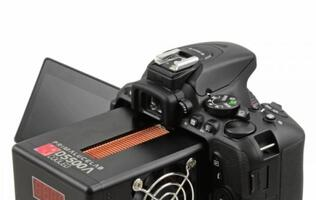 Peltier cooled Nikon D5500 DSLR perfect for astrophotography