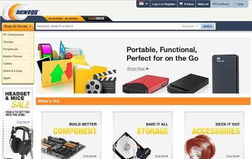 Rumor: US-based online retailer Newegg may be acquired by a mainland Chinese company