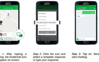 Grab's new GrabChat feature makes it easier to communicate with your driver