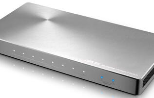 The sexiest 10G-capable network switch - the ASUS XG-U2008 (Updated)