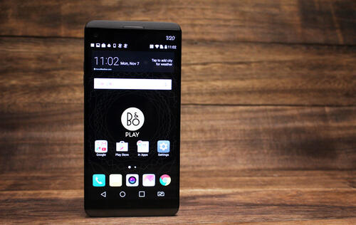 Display, Audio and Software Features : LG V20 review: A premium