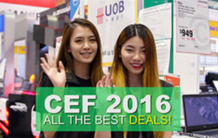 CEF 2016: All the best deals!