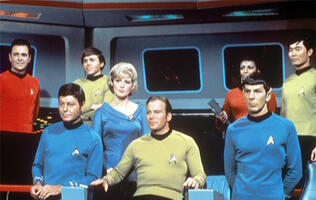 Boldly going, together