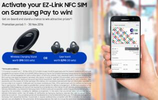 Samsung Pay now supports barcode loyalty cards and EZ-Link NFC SIM cards