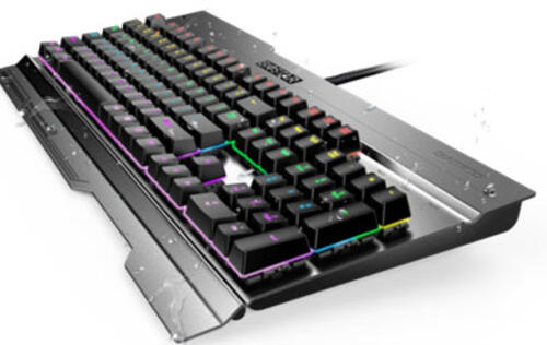 Biostar just announced the GK3, a US$45 mechanical keyboard with multi-color lighting