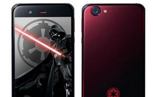 Check out Sharp Mobile's awesome Star Wars-themed smartphones