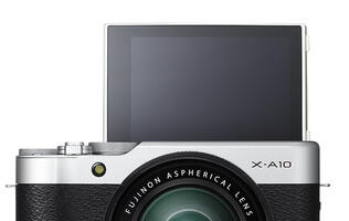 Fujifilm's new X-A10 camera is easy on the wallet and great for selfies