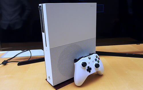 Hands-on: Xbox One S - a 4K and HDR-capable gaming console