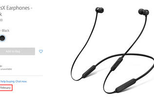 BeatsX earphones' release now pushed to February 2017