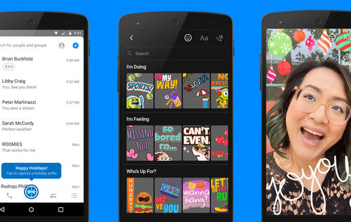 Facebook Messenger brings a Snapchat clone for visual messaging