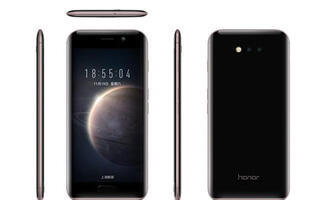 Huawei's Honor Magic is slab of rounded glass with a ton of smart features