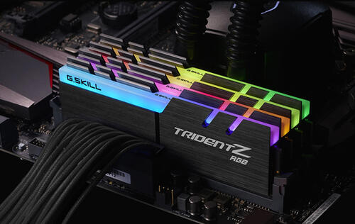 G.Skill introduces their Trident Z RGB-illuminated DDR4 RAM sticks