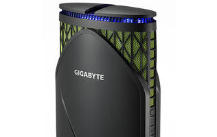 Gigabyte's Brix Gaming GT is an odd-looking desktop with a lot of firepower