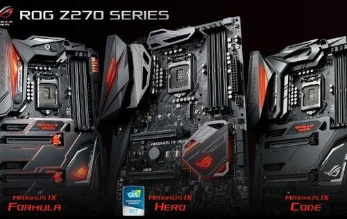 ASUS unveils new Z270 series motherboards at CES 2017