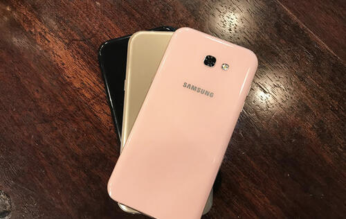 Hands-on: Samsung Galaxy A7 (2017)