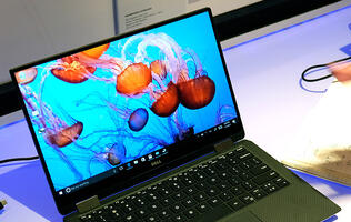 Hands-on with the Dell XPS 13 2-in-1 convertible notebook