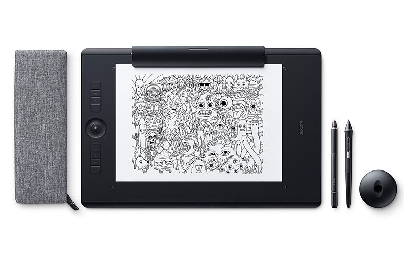 Wacom's new Intuos Pro Paper Edition literally lets you draw on paper