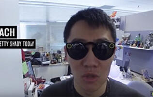 Inside HardwareZone: Shady Snapchat shades, a quick-firing DSLR, and a lappie that hisses!