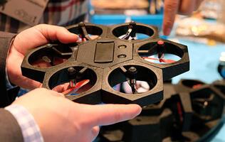 Airblock is a modular drone that you can take apart and put together over and over again
