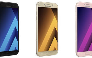 You can now pre-order 2017 Samsung Galaxy A5 and A7 smartphones