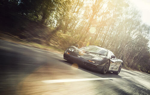 Watch never-before-seen footage of the legendary McLaren F1 hitting 391km/h