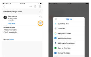 Outlook for iOS gets extensible on its 2nd birthday