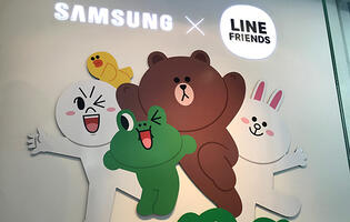 PSA: A Line Friends event is happening at the Samsung Experience Store at Westgate