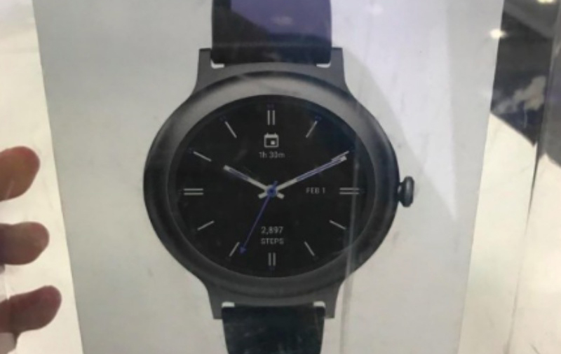 Retail package of LG Watch Style leaked