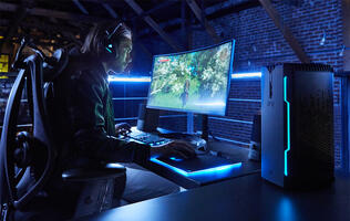 The Corsair ONE is the company's first pre-built gaming PC
