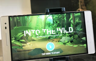 Singapore's ArtScience museum takes you Into the Wild with their augmented reality exhibit