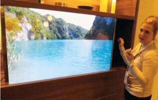 Watch: Panasonic 'magic' glass TV for your future home
